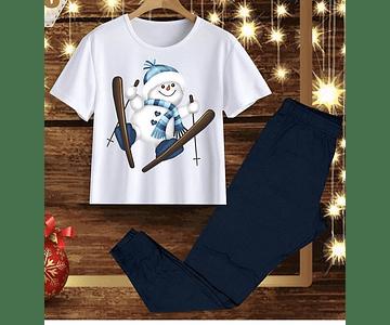 Pijama Snowman