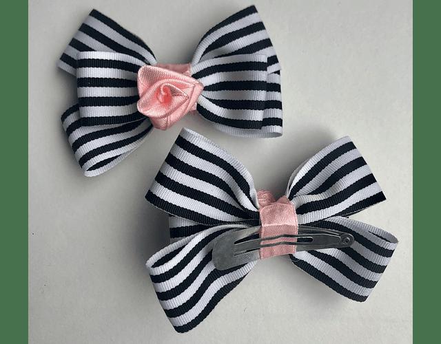 Moños Mini Rosa