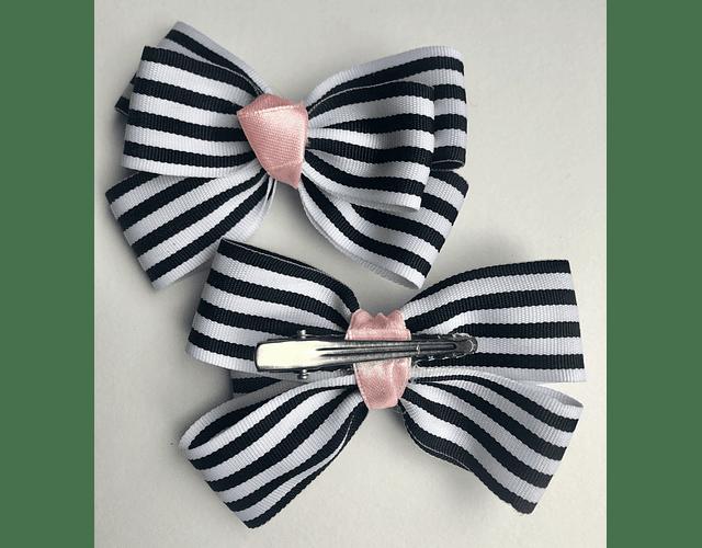 Moños Zebra