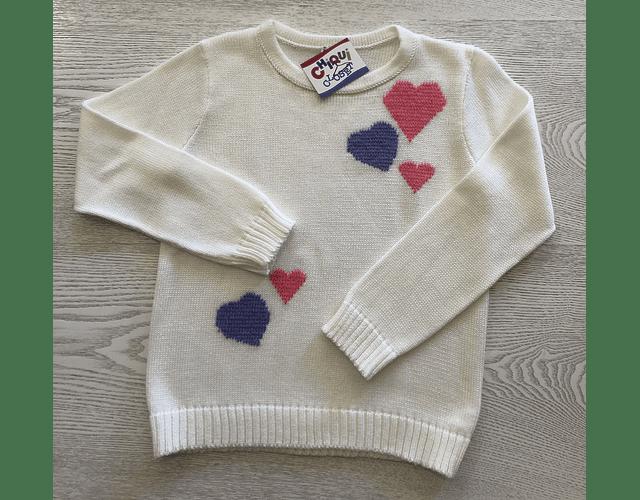 Sweater Corazones