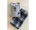 Pijama a cuadros (Mas colores disponibles)