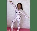 Pijama Corazones Púrpura
