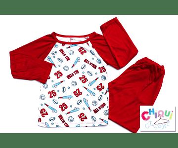 Pijama All Stars Cuello Redondo