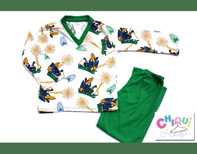 Pijama Spiderman Cuello V