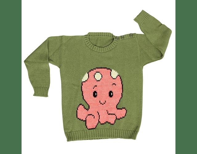 Sweater Pulpo