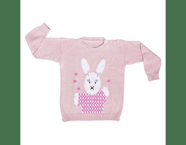 Sweater Coneja con Cintas