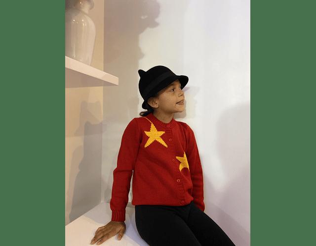 Sweater Abierto Estrellas