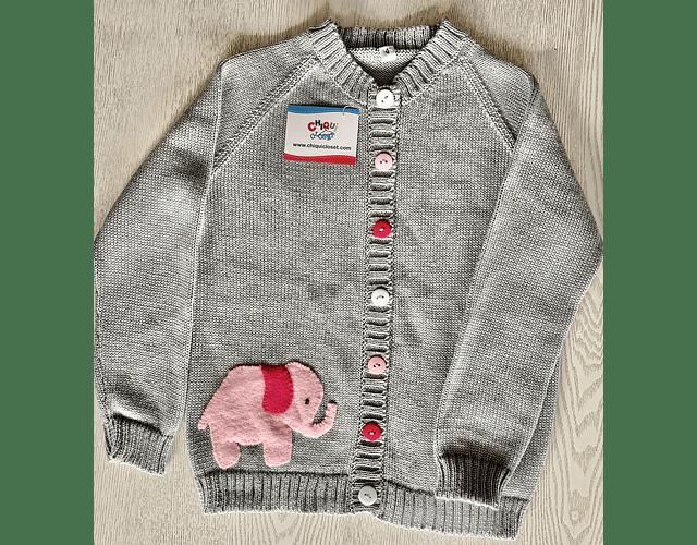 Sweater Abierto Elefante