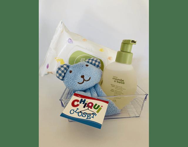 Set 3 productos - Osito Azul