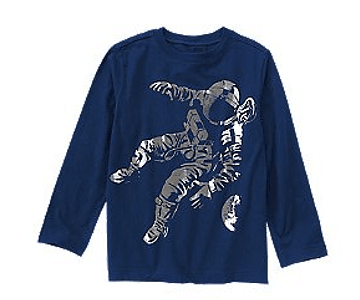 Camiseta Astronauta Crazy 8