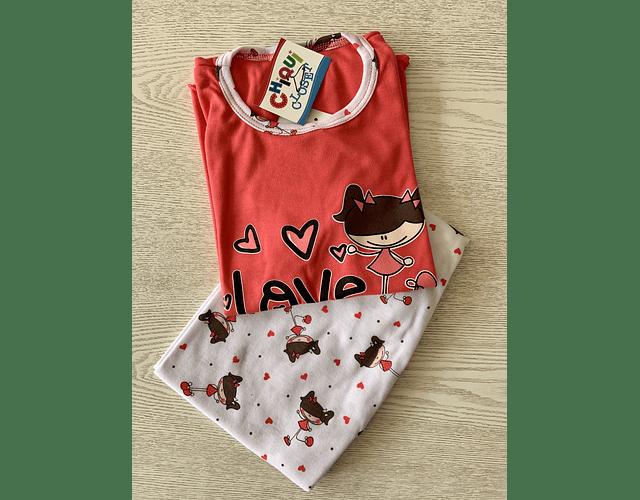 Pijama Love Girl
