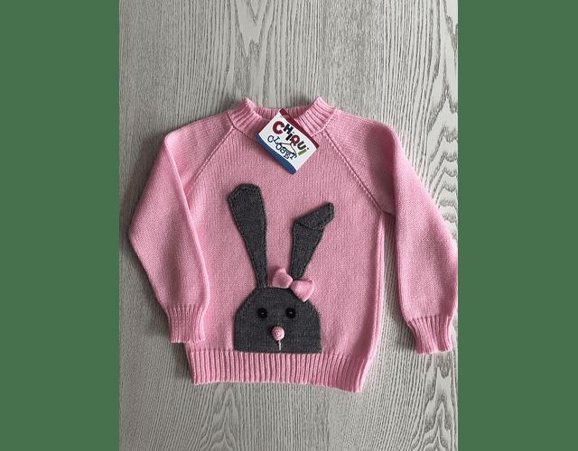 Sweater Coneja Gris