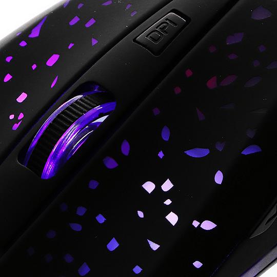 Xtech Ophidian Mouse 6 Botones Videojuegos