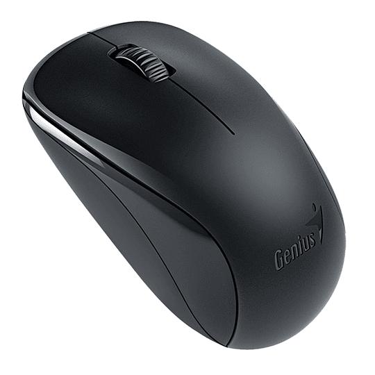 Genius Mouse NX-7000 Inalambrico Negro
