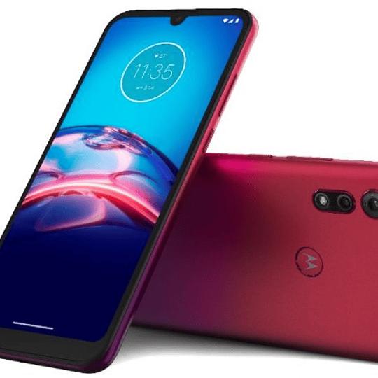 Motorola E6 S Smartphone Rojo
