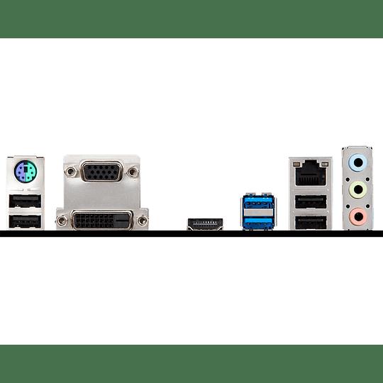 MSI H310 -mATX-LGA 1151 - DDR4- VGA/DVI/HD