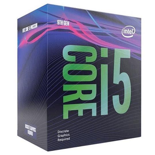 Procesador Intel® Core™ i5-9400F 6-Core 2.9 GHz (4.10 GHz Turbo) FCLGA1151 (9na Gen), Sin Graficos