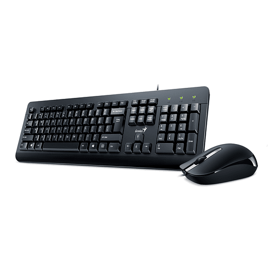 Genius Combo Teclado + Mouse Wireless Negro