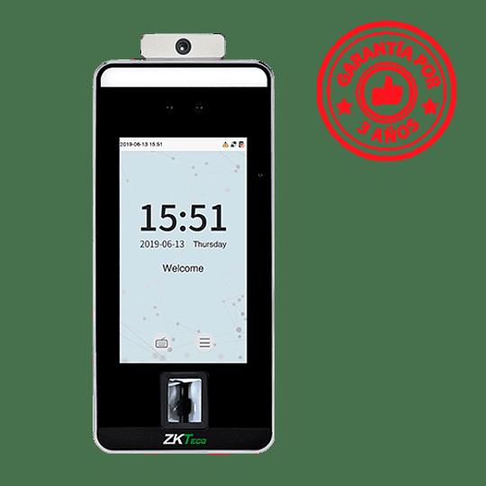 Control de Acceso Facial/Palma de mano deteccion temperatura