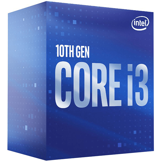 Intel CORE I3-10100 3.6GHZ 6MB CACHE LGA1200 4CORES/8THREADS CPU PROCESSOR