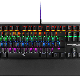 Primus teclado mecanico gaming RGB ballista 300t tecla roja