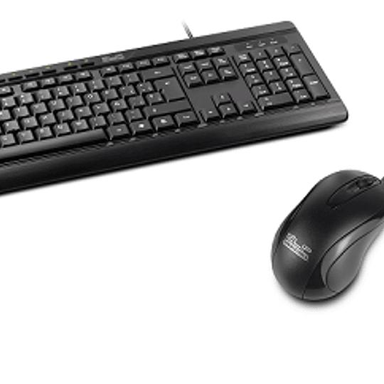 Klip Xtreme Combo teclado+mouse alambrico ESP USB K