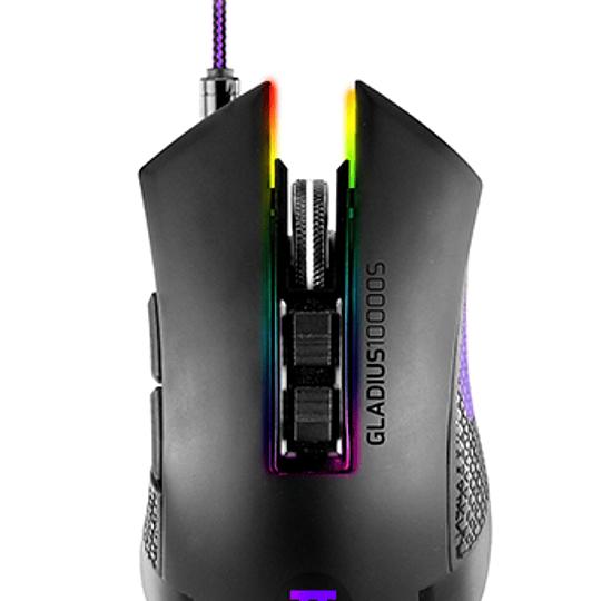 Primus mouse gaming Gladius 10000DPI RGB 7 botones