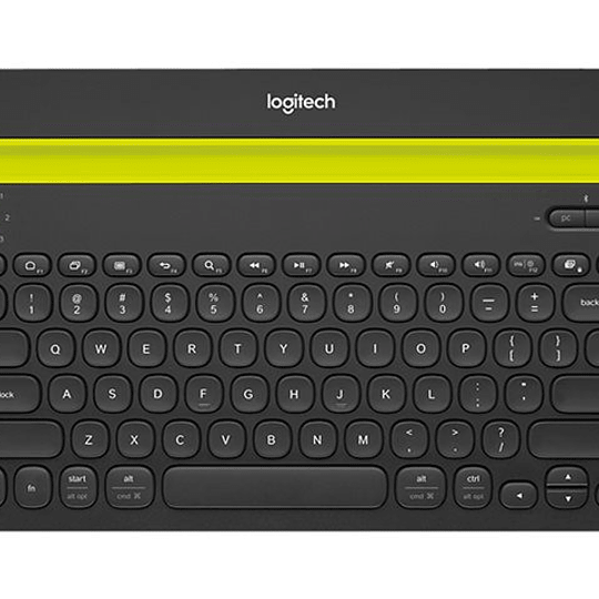 Logitech Multi-Device K480 Keyboard - Bluetooth - black