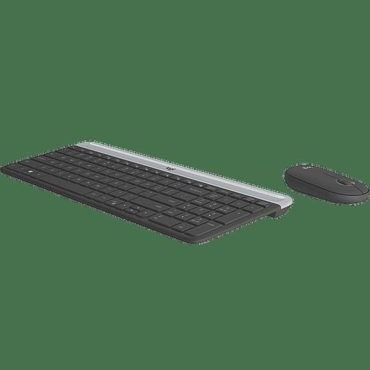Logitech combo inalambrico MK470 compacto/silencioso/ 2.4Ghz