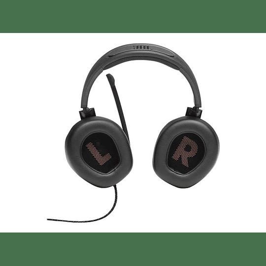 JBL Headphones Quantum Q200 Gaming Flip up Mic Black S.Ame