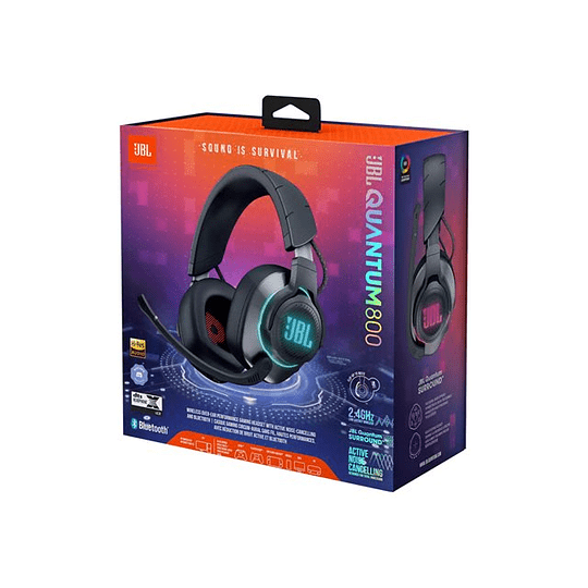 JBL Headphones Quantum Q800 Gaming Quantumsurround 9.1 BT SA