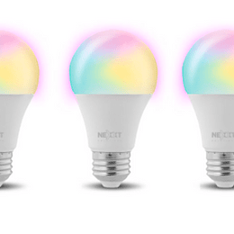 Nexxt Solutions Bombilla LED inteligente multicolor pack 3 Unidades