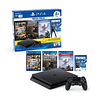 Playstation consola P4 SLIM 1TB Mega pack 6 + 3 juegos