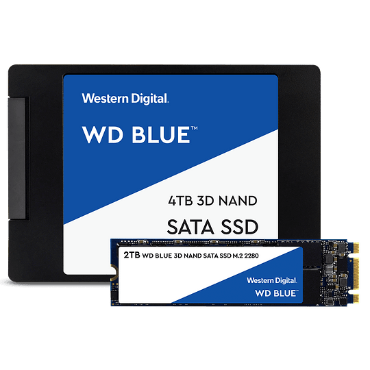 Western Digital Blue SSD M2 2280 500GB