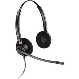 Plantronics Audífono Binaural  EncorePro 520, Noise-Canceling