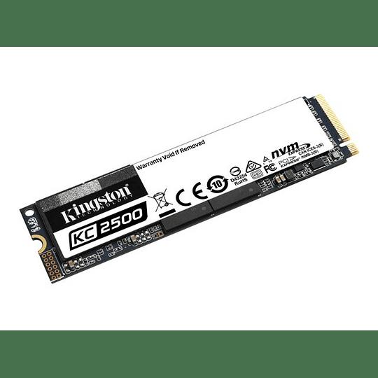 Kingston KC2500 1TB SSD NVMe M2 2280