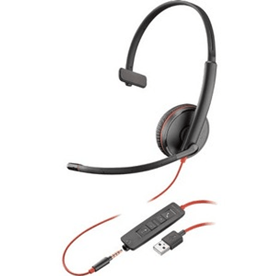 Auriculares  Poly BLACKWIRE,C3210 USB-A