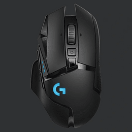 Logitech Mouse Gaming G502 Inalambrico Lightspeed Black and Blue