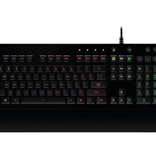 Logitech G213 Teclado Gamer Español USB/Antiderrame/RGB