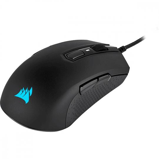 Corsair  Mouse Gaming M55 RGB PRO AM55 Negro