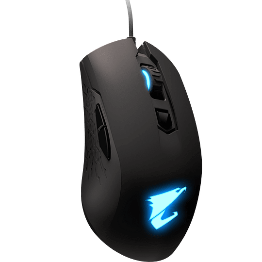 Aorus Mouse Gaming M4 USB Wired Black 6400 DPI RGB