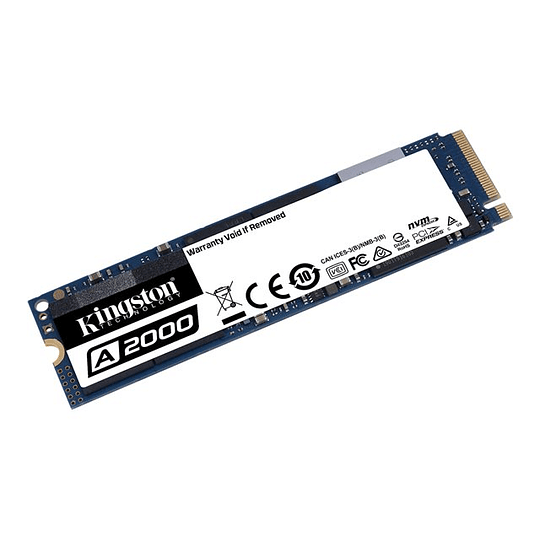 Kingston SSD 500GB M.2 2280 2200/2000MB/s L/E NVME PCIe
