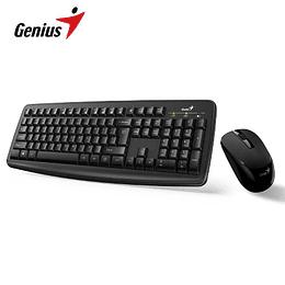 Genius combo  Teclado y Mouse Inalambrico Negro  Smart KM-8100