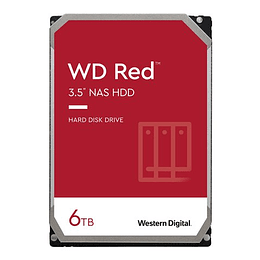 Western Digital HDD Red WD60EFAX 6tb 5400rpm 256mb SATA3