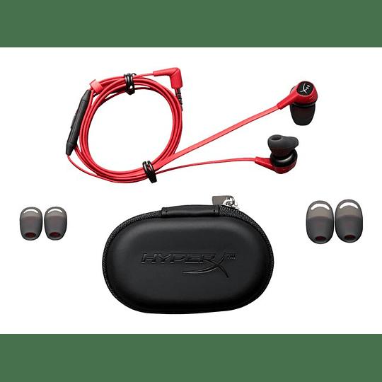 HyperX Audifono Cloud Earbuds para Videojuegos