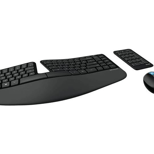 Microsoft Sculpt Ergonomic Kit Teclado y Mouse inalámbrico