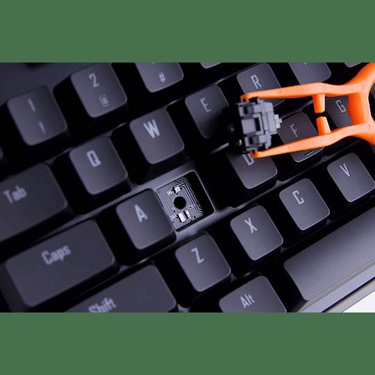 AORUS teclado K9 optico con cable USB RGB