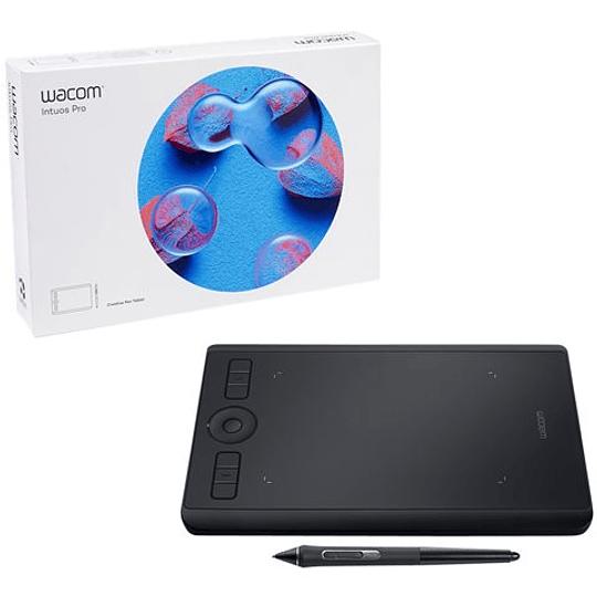 Wacom Tableta  grafica Intuos Pro Small Digitizer - diestros y zurdos - 16 x 10 cm - multitáctil
