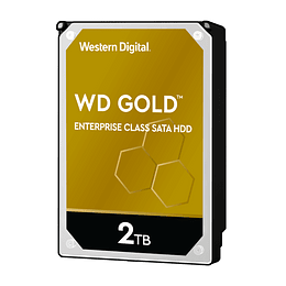 Western Digital Disco duro  2TB GOLD SATA3 128mb 7200rpm