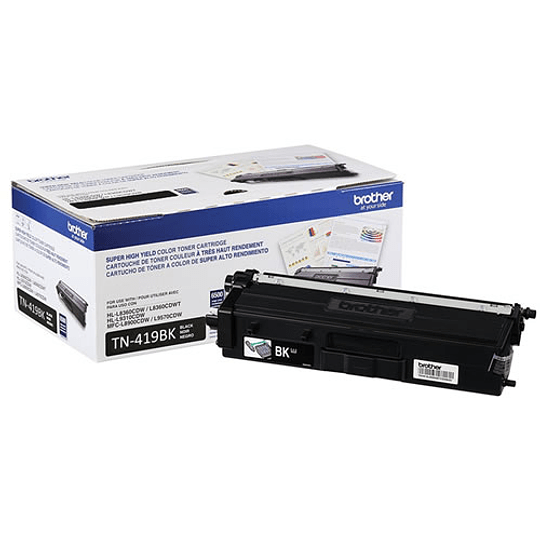 Brother Toner TN-419BK 9000 Paginas